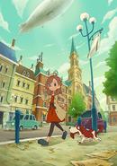 Layton´s Mystery Journey Cover Artwork