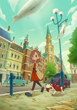 Layton´s Mystery Journey Cover Artwork