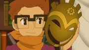 Randall mit der Maske des Chaos
