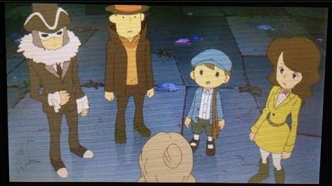 Professor Layton and the Azran Legacy Cutscene 26 (US Version)