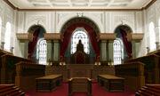 Gerichtssaal London