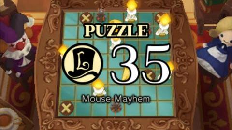 Puzzle Solution Puzzle 35 - Mouse Mayhem (Professor Layton vs Phoenix Wright Ace Attorney)