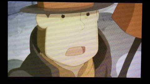 Professor Layton and the Miracle Mask Cutscene 33 (US Version)