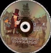 Layton Series Soundtrack Premium CD Disc