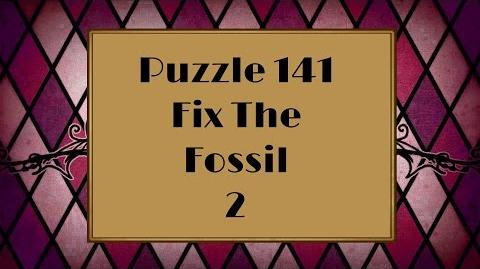 Professor Layton and the Miracle Mask - Puzzle 141 Fix The Fossil 2