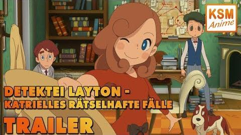 Detektei Layton Volume 1 Trailer Deutsch