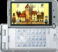 Geheimnisvolles Dorf Mobiltelefon