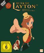 Detektei Layton Volume 1 Cover