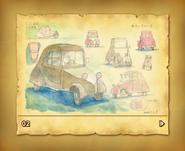 Laytonmobil Skizze