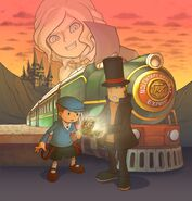 Professor Layton Pandora Anthony