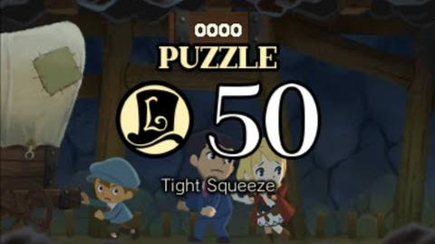Puzzle Solution Puzzle 50 - Tight Squeeze (Professor Layton vs Phoenix Wright Ace Attorney)
