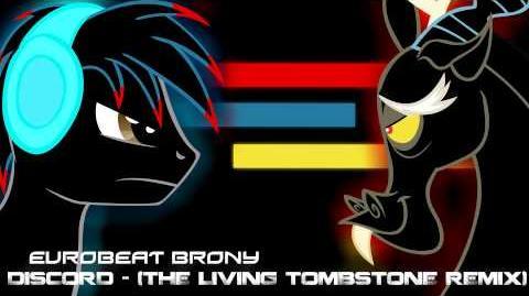 Eurobeat Brony - Discord (The Living Tombstone's Remix)