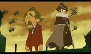 Descole und Raymon auf den Endlosen Zirkeln