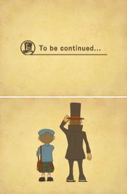 Layton 3 Fortsetzung folgt