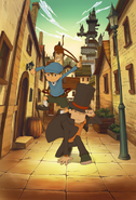 Layton1 EXHD Artwork
