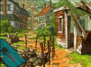 Smashed House
