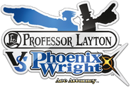 Professor Layton VS Phoenix Wright Logo