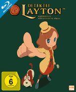 Detektei Layton Volume 1 Cover Blu-ray