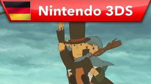 Professor Layton und das Vermächtnis von Aslant - Trailer (Nintendo 3DS)
