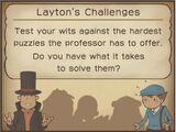 Layton's Challenges