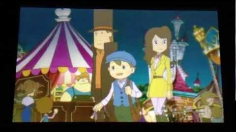 Professor Layton and the Miracle Mask Cutscene 20 (US Version)