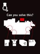 Rätsel mit vier geheimnisvollen Formen