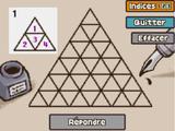 Triangles à l'encre