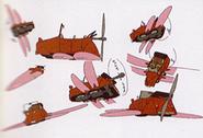 Fliegendes Laytonmobil Konzept