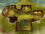 Targents Luftschiff Karte