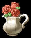Nr.22 Handys Vase mit Blumen