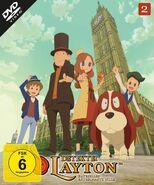 Detektei Layton Volume 2 Cover