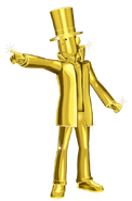 Gold Layton 3D Modell