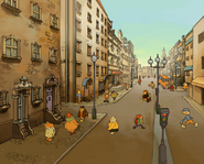 Layton 2 London Artwork