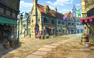 Markt in Labyrinthia