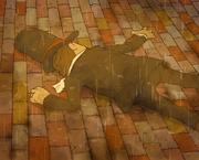 Layton bewusstlos zusammengeschlagen