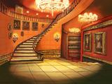 Foyer der Villa