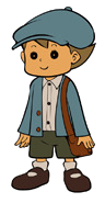 Layton Kyouju to Chotto Waraeru Nazo Character Art Luke