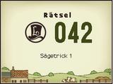 Sägetrick 1