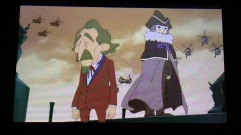 Professor Layton and the Miracle Mask Cutscene 39 (US Version) (Post-Credits Scene)