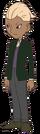Detective Inspector Leonard Bloom