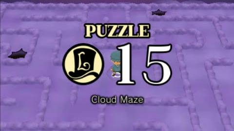 Puzzle Solution Puzzle 15 - Cloud Maze (Professor Layton vs Phoenix Wright Ace Attorney)