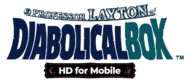 Layton 2 HD Logo US