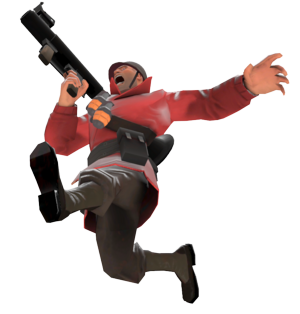 Soldier Jumping