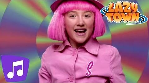 LazyTown Man On A Mission Music Video