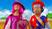 Nick Jr. LazyTown Pixel and Stephanie 17 - Knights