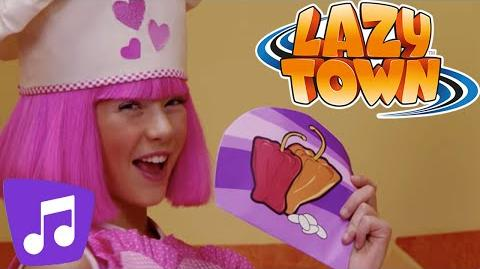 LazyTown Recipe for Energy Music Video