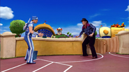Sportacus and Robbie Rotten Western Duel 2