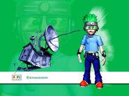 Nick Jr. LazyTown Goggi Mega CGI
