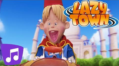Lazy Town Sportacus 2015