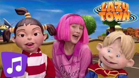 LazyTown Playtime Music Video